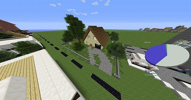 Sand House Minecraft Project