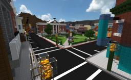 Back to the Future - Hill Valley 1955 Minecraft