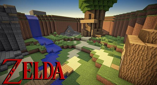 minecraft the legend of zelda adventure map 1.6.2 - Minecraft ...