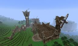 Steampunk Town Minecraft Map & Project