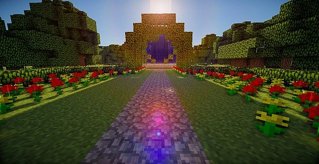 Flower garden minecraft project - Minecraft garden designs ...
