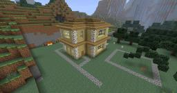Ranch Style House Minecraft Map & Project