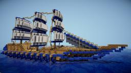 Divine Dreams Boat Spawn Minecraft Map & Project