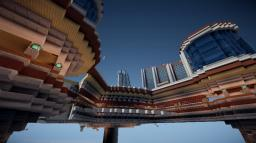 Modern UFO House - By Sheng Minecraft Map & Project