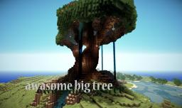 awesome big tree survival world Minecraft Project