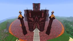Nether Themed Castle Minecraft Map & Project