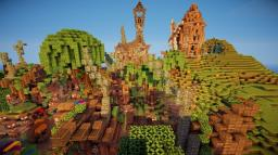 MallowBrook the Medieval village! Minecraft Map & Project