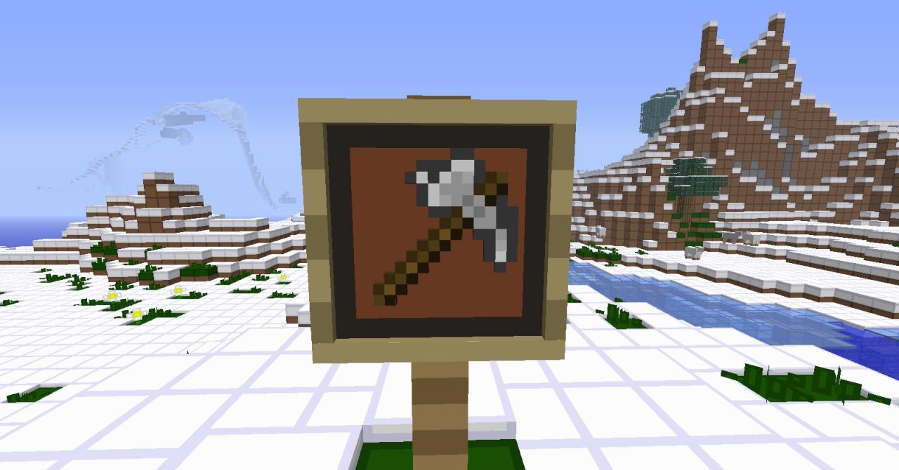 Double tool item frame glitch! Minecraft Blog