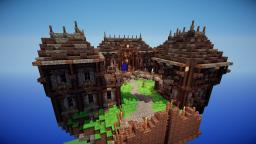 Small Island Village of Deradin Minecraft