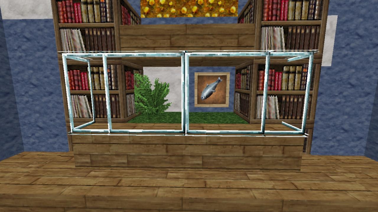fish tank different building tutorial minecraft blog. Black Bedroom Furniture Sets. Home Design Ideas