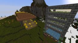 The AutoMagic potato Farm w/ house Minecraft Map & Project