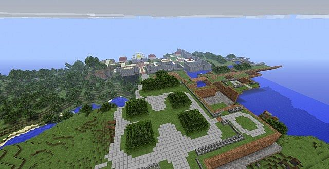More progress on the Minish Cap game world.  Image taken on Aug 25, 2013