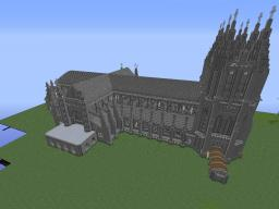 Washington National Cathedral made in Minecraft Minecraft Map & Project