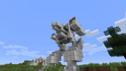 mech Minecraft Map & Project
