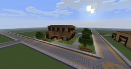 A simple house. Minecraft Map & Project