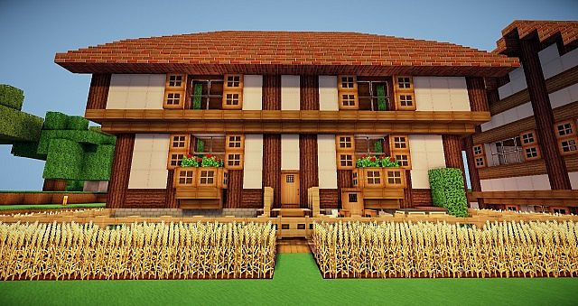 Architecture Houses Minecraft german architecture]-fachwerkhaus house minecraft project