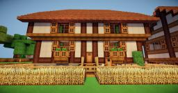 [German Architecture]-Fachwerkhaus House Minecraft Project