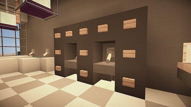 Grain Luxurious Modern House Minecraft Project