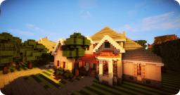 European house - By Olenormann Minecraft Map & Project