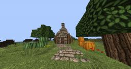 Little house medieval/fantasy Minecraft Project