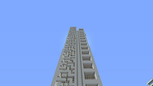 Modern Skyscraper 1 Minecraft Project