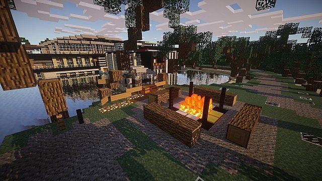 1 8] Luxurious Modern House 2 Map Download | Minecraft Forum