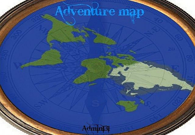 Adventure Map Continents Minecraft Project - Map of continents