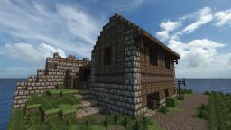 City Barracks with Stables Minecraft