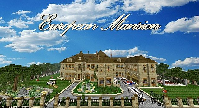 European Mansion Traditional Dbs Minecraft Project
