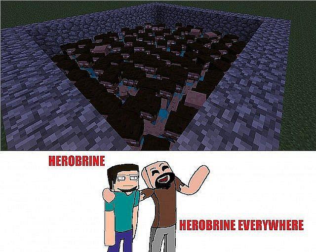 Herobrine...Herobrine Everywhere. By Herobrines Twin