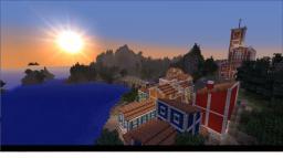 Italian Coastal town Minecraft Map & Project