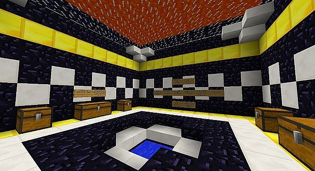 Minecraft russian roulette map