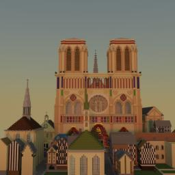 The City of Paris (1300's) Replica [DISCONTINUED] Minecraft