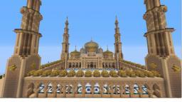 Golden Mosque Minecraft Map & Project