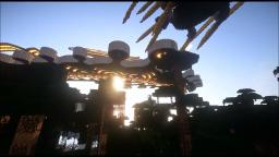 Neroxian, Space Port on the Planet Lotus Minecraft Map & Project