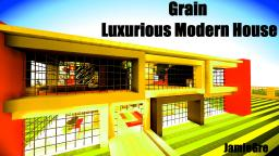 Grain | Luxurious Modern House Minecraft Map & Project