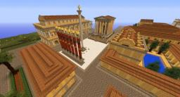 Ancient Greek city, Taken over by the Romans Minecraft Map & Project