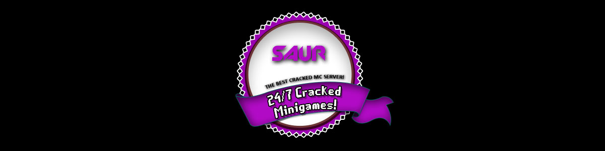 ▻SAUR◅Factions▻PVP◅Minigames▻Staff needed◅ Minecraft