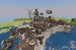 Awedhon - Steampunk City (With Download !) Minecraft Map & Project