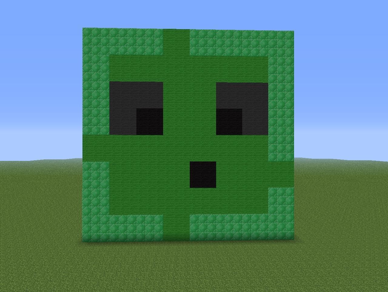 Slime Statue Minecraft...