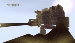 G.G. Ind SteamMan Heavy Walker Prototype Minecraft Map & Project