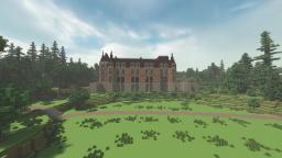 Trevarez park Minecraft Project