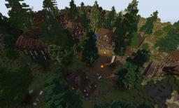Laurentas Medieval Town Minecraft Map & Project