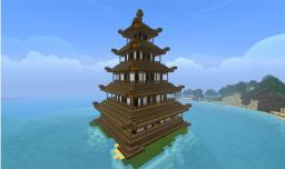 Japanese Pagoda Minecraft Map & Project