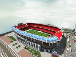 Lapiz Point's American Football Stadium | ECS Minecraft