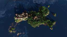 Island Town of Whitewood Minecraft Map & Project