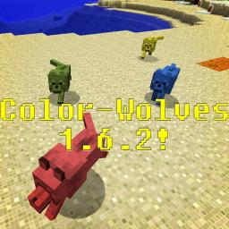 Color-Wolves 1.6.2! Minecraft Texture Pack