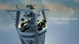 KERALIS Showcase! - Modern Skyscraper - Ninaman Minecraft Project
