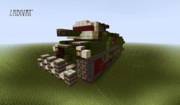 S.I. Zabivat' Heavy siege Self Propelled Cannon Minecraft Map & Project