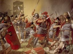 Caesar's Gallic Wars Minecraft Project